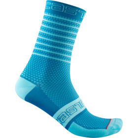 Castelli SuperLeggera 12 Socks Women, niebieski
